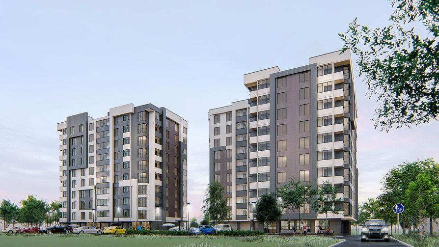 Жилой комплекс Алба-Юлия по ул.Липкань 7, фото 1, цена 650€ м2 - SV Grup