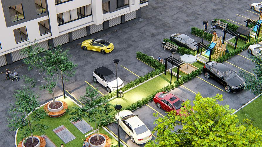 Жилой комплекс Алба-Юлия Липкань 7, фото 7, цена 650€ м2 - SV Grup