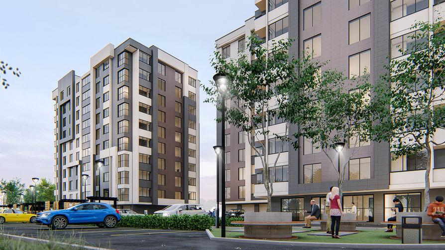 Жилой комплекс Алба-Юлия Липкань 7, фото 3, цена 650€ м2 - SV Grup