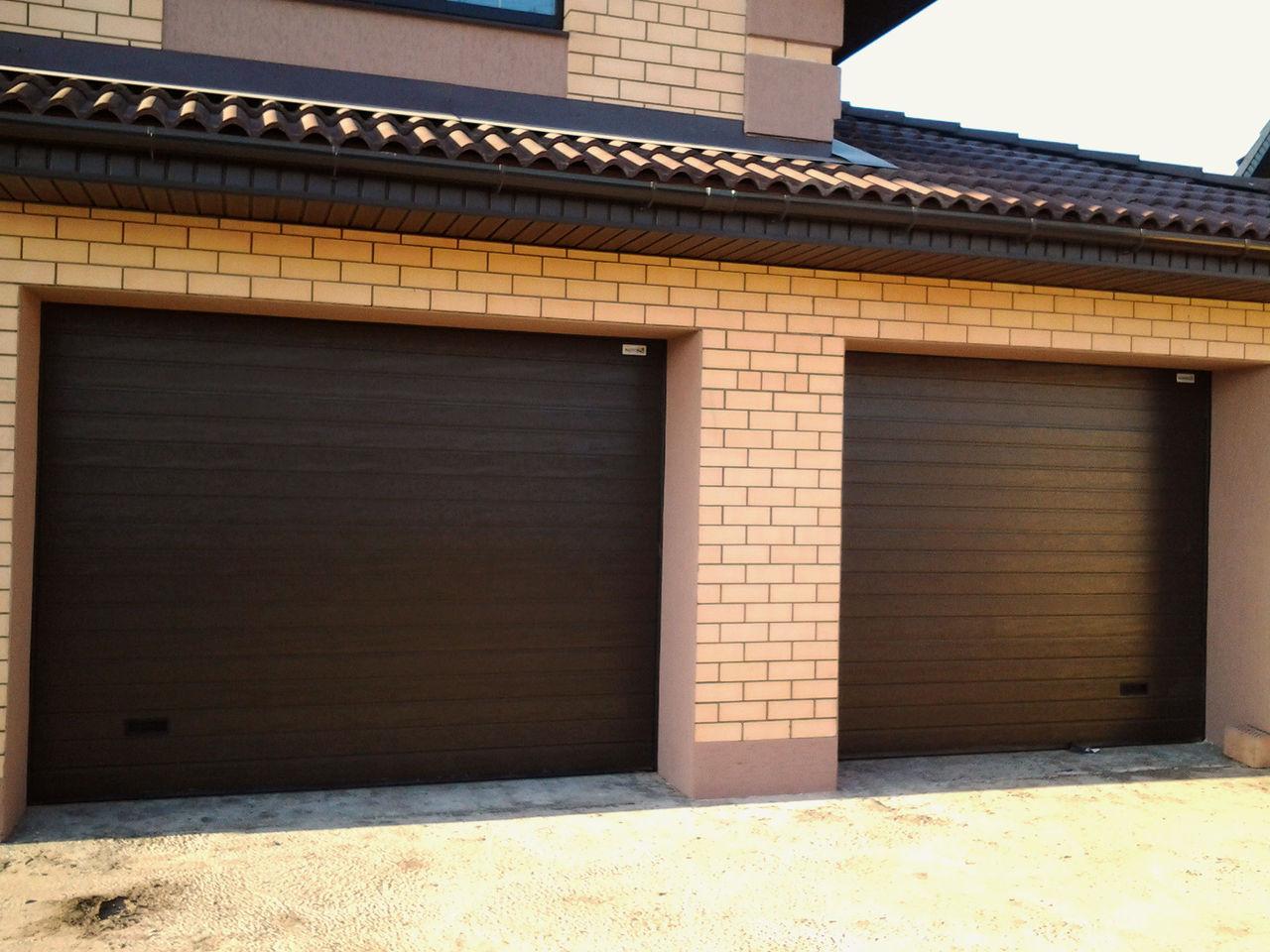 Как правильно сделать гаражные ворота секционные