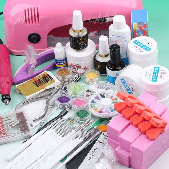 Description: item type: nail art manicure set uv lamp power: 36w uv lamp voltage: 220v uv lamp size