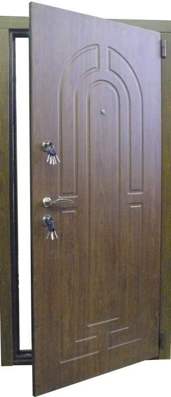 стальные входные двери с мдф