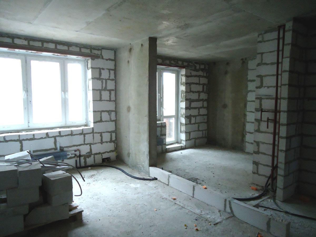 стены в монолитном доме