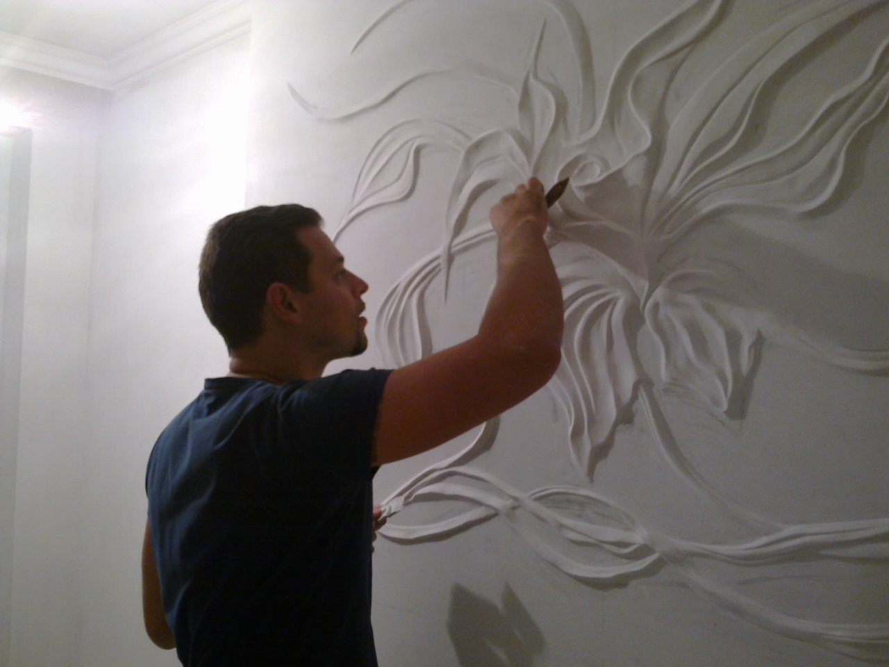 Барельеф на стенах своими руками фото