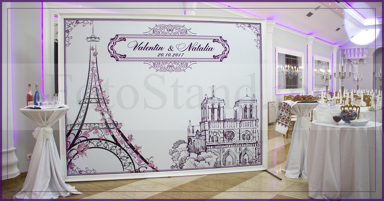 Fotopanou Pentru Nunta Decor Cu Baloane Panouri Pentru Cumatrii