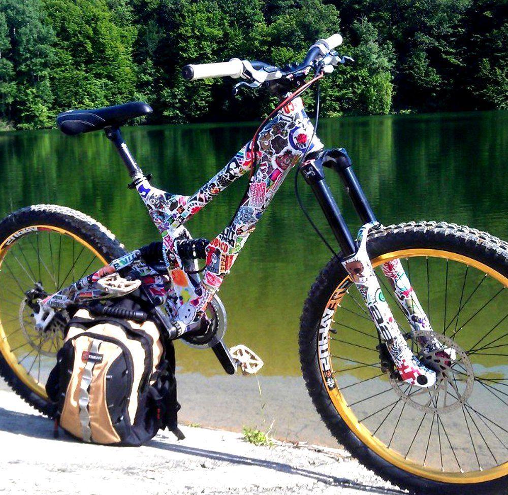 Оклейка велосипеда своими руками 92