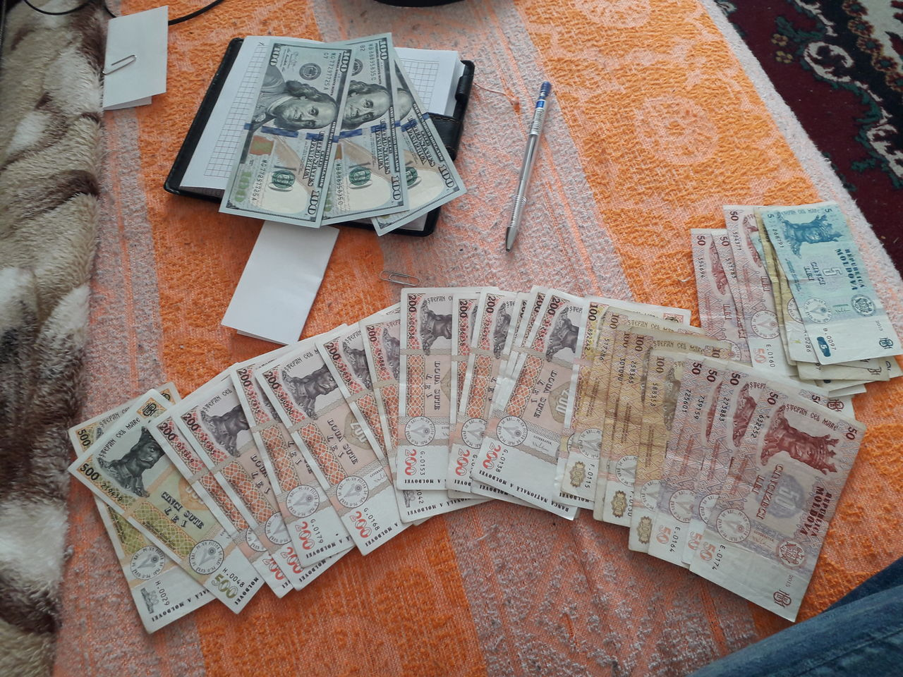 imprimați vizualizările în valută