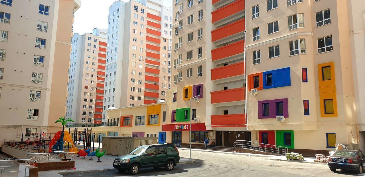 Centru Bloc nou, apartament cu 1 odaie + living, varianta alba, et 6/15 34 900 EUR