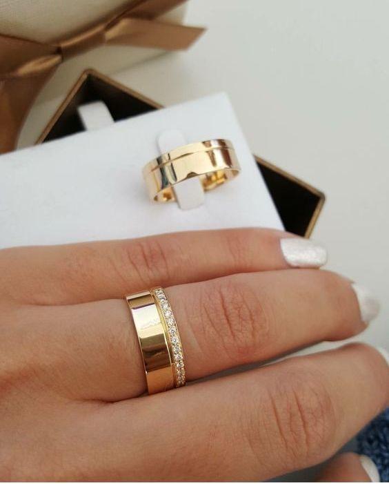 Verighete La Comandainele De Logodnă Bijuterii Din Aur Si Argint La
