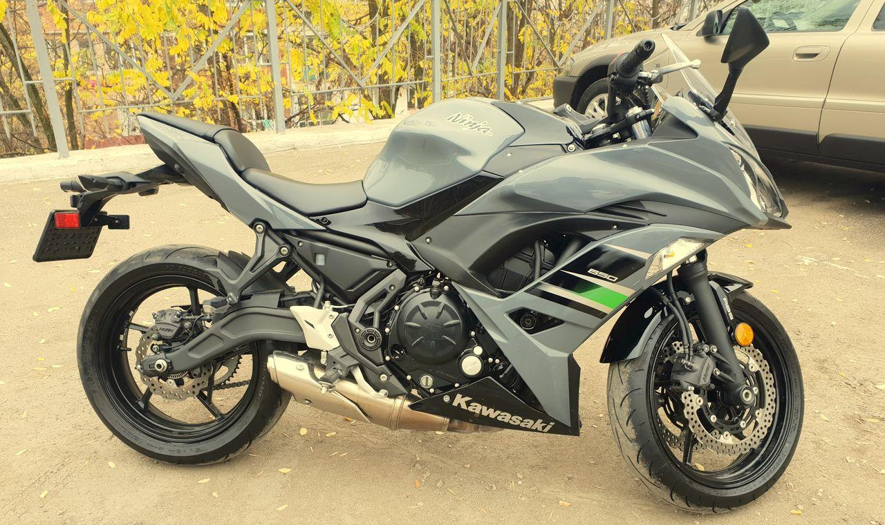 Kawasaki Ninja 650 Model 2018