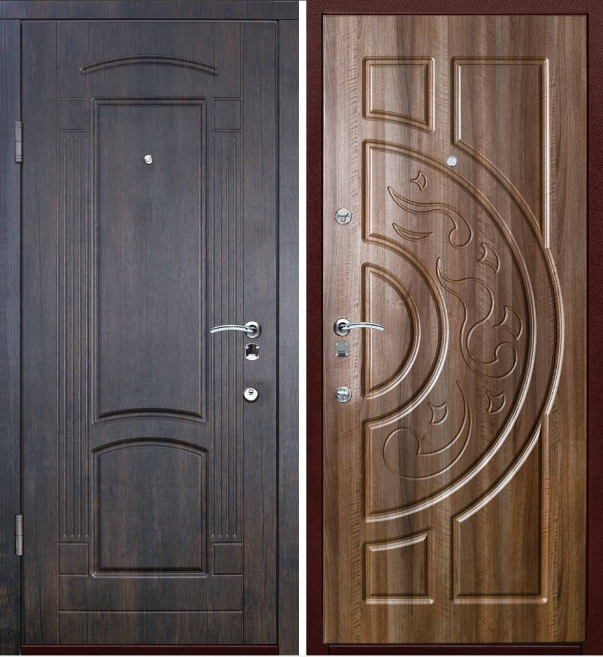 Металлические двери готовые
