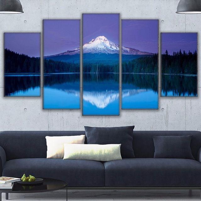 Постеры из стекла на стену