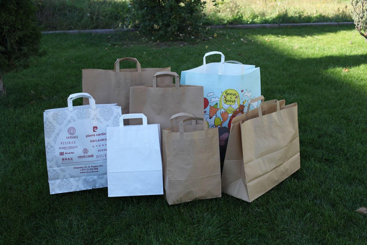Экологически чистые бумажные крафт-пакеты