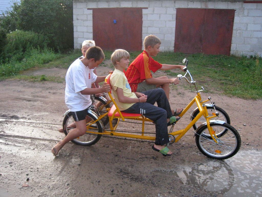 Веломобиль из велосипеда своими руками 59