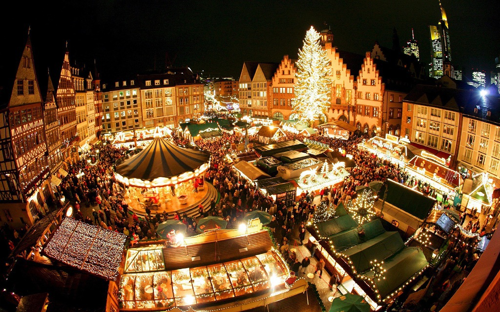 Новогодняя ночь в Праге !