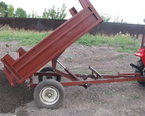 Как зделать самому самодильный большой прецып для трактора