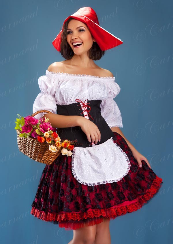 Взрослый костюм красная шапочка своими руками 29