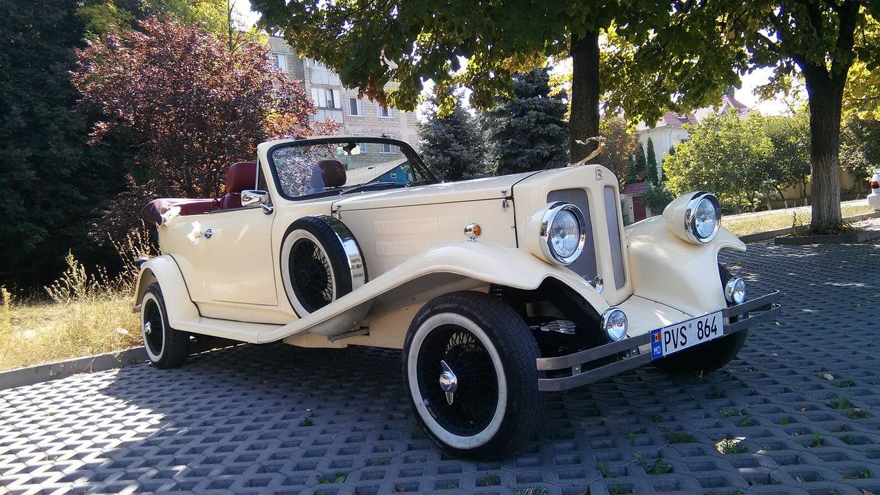 Retro style auto