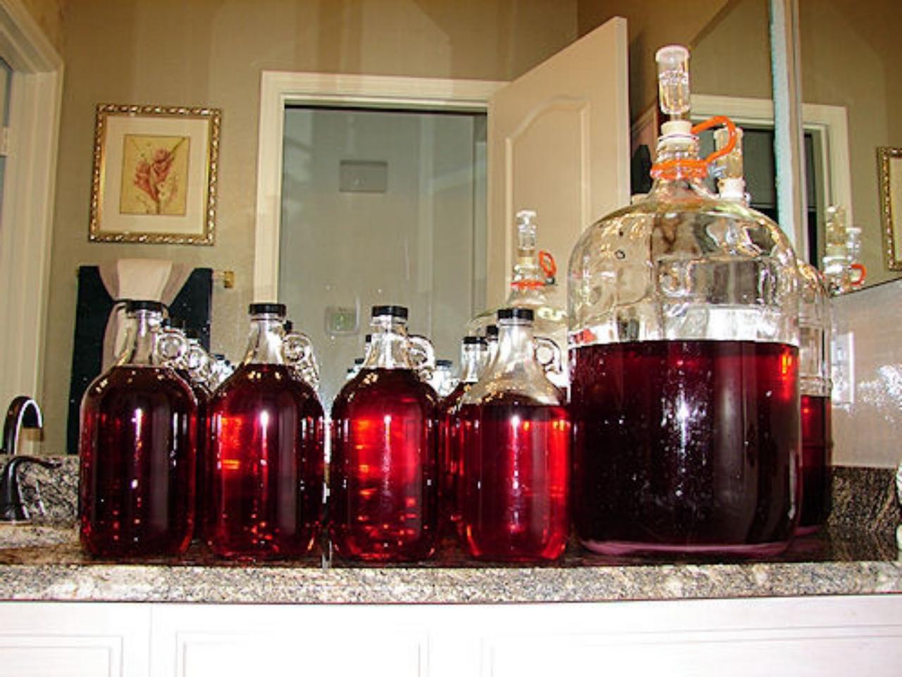 Изготовление креплёного вина