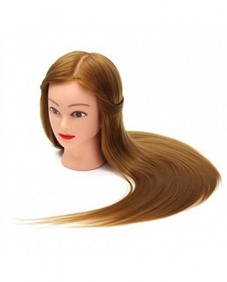 Cap Practica 60cm Par Blondsaten Natural 100 Calitate Superioara