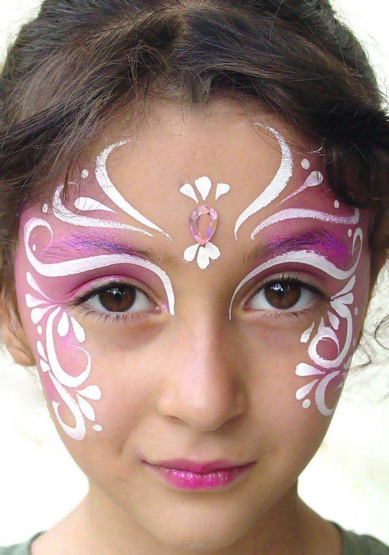 Чем рисовать на лице детям в домашних условиях