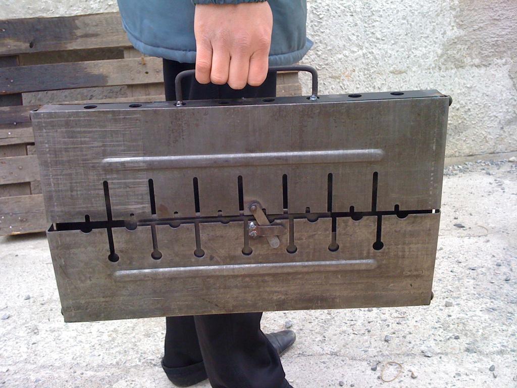 Разборные мангалы из металла своими руками фото