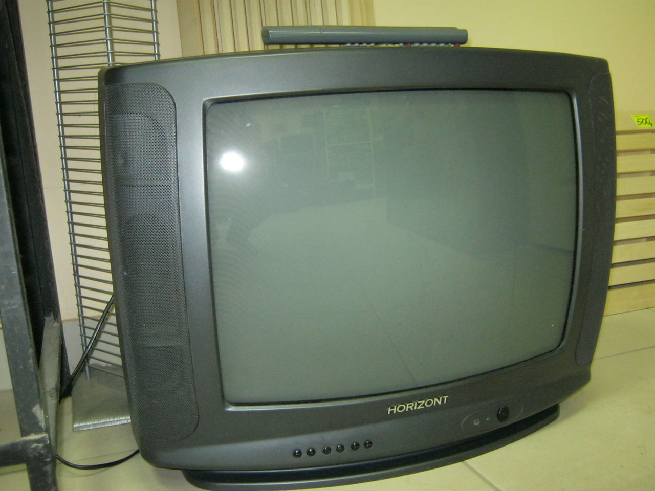 телевизор горизонт фото и модели старые нем