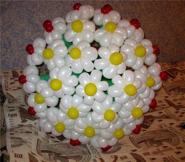 Воздушные шары букеты своими руками
