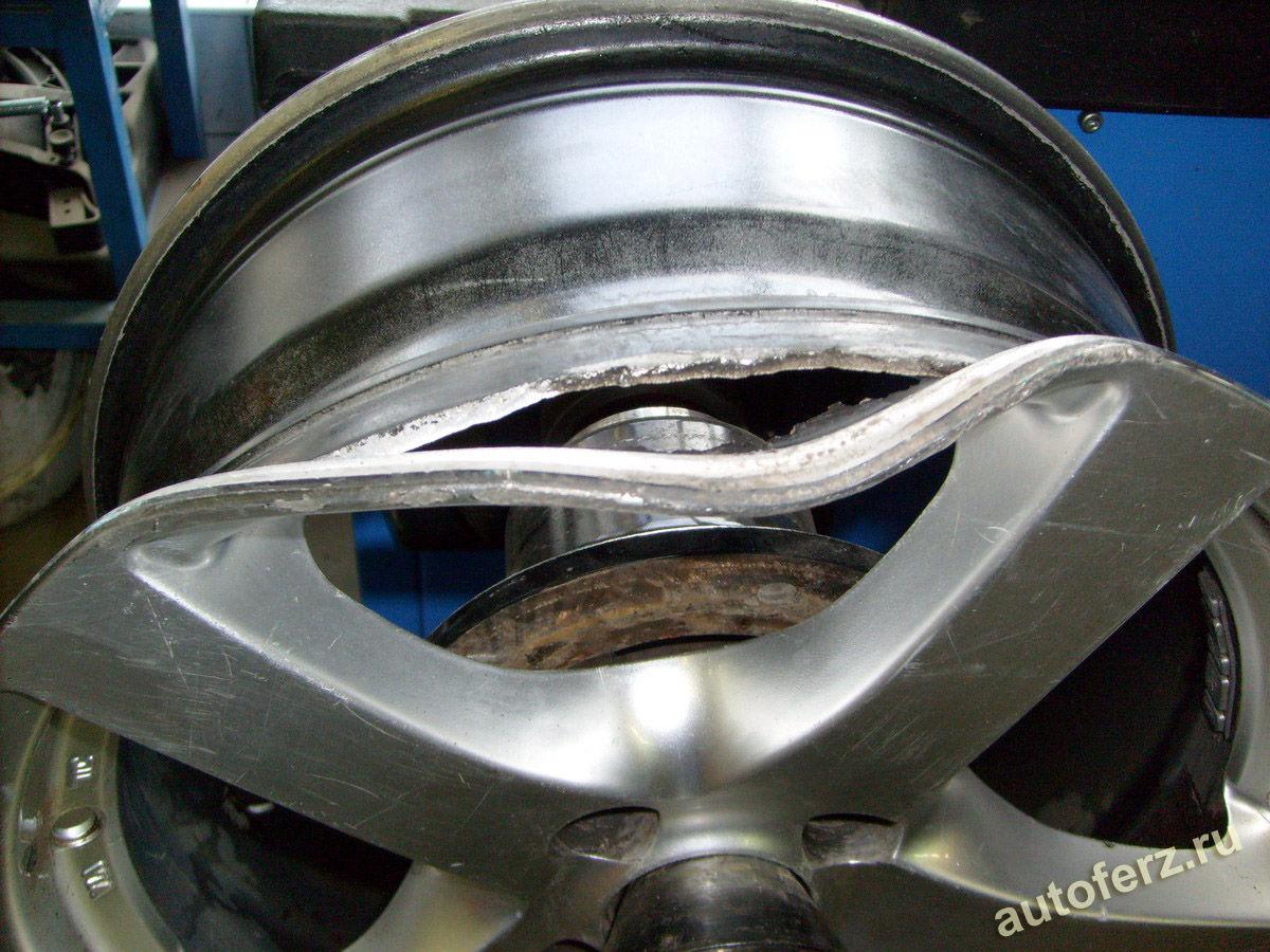 Рихтовка легкосплавных дисков