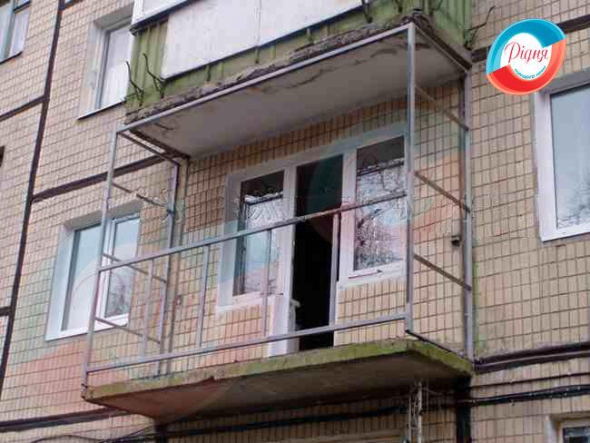 Установка балконов до 50 см.