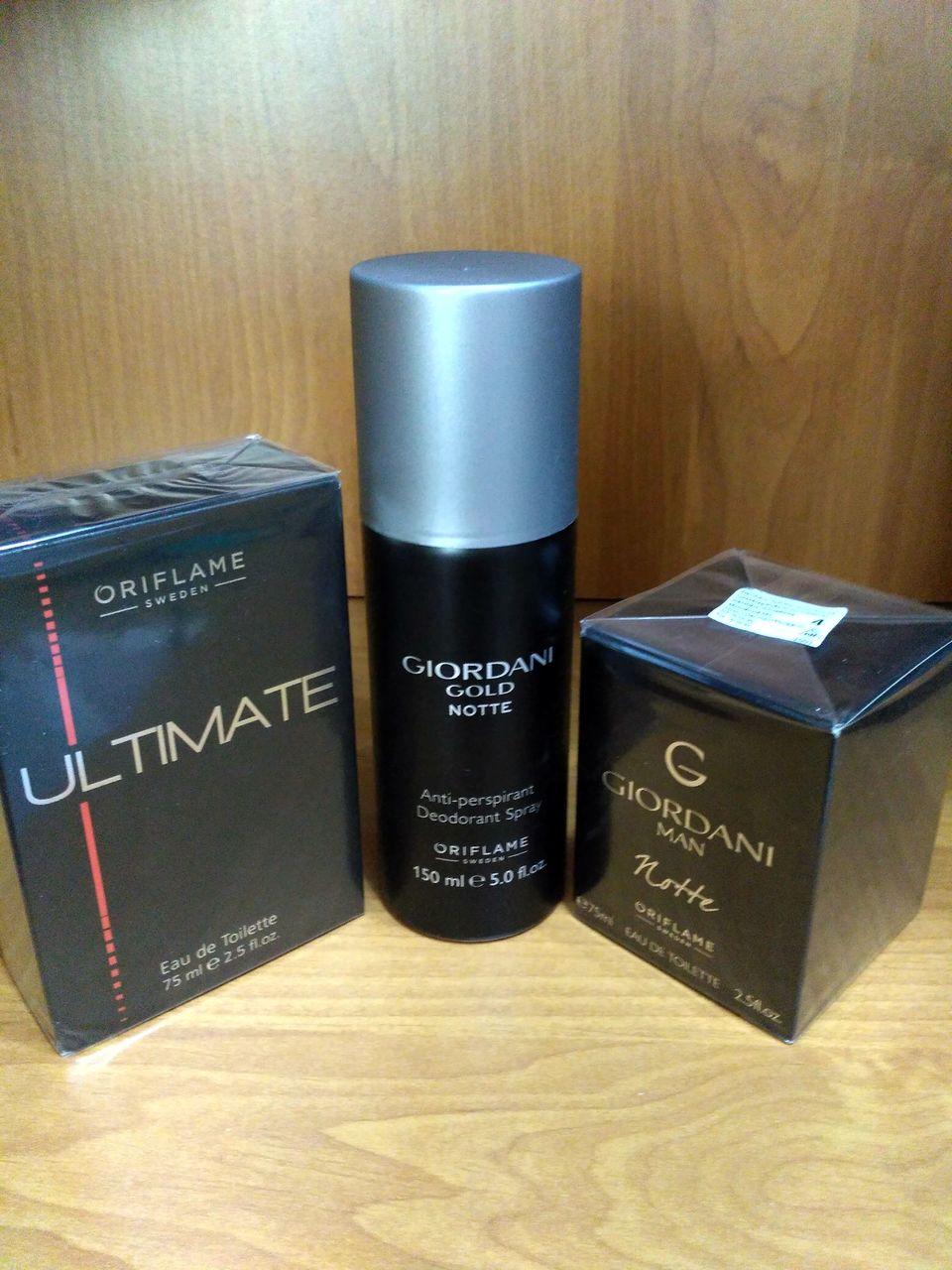 мужские парфюмы Oriflame