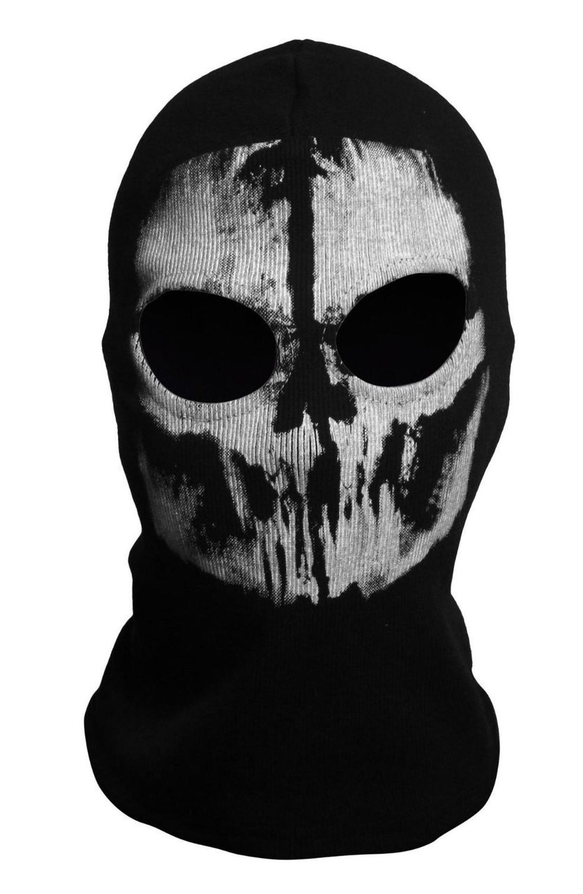 Call of duty ghost ski mask