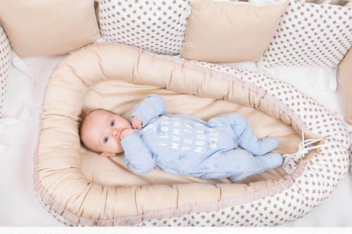 Кокон беби для новорожденного своими руками