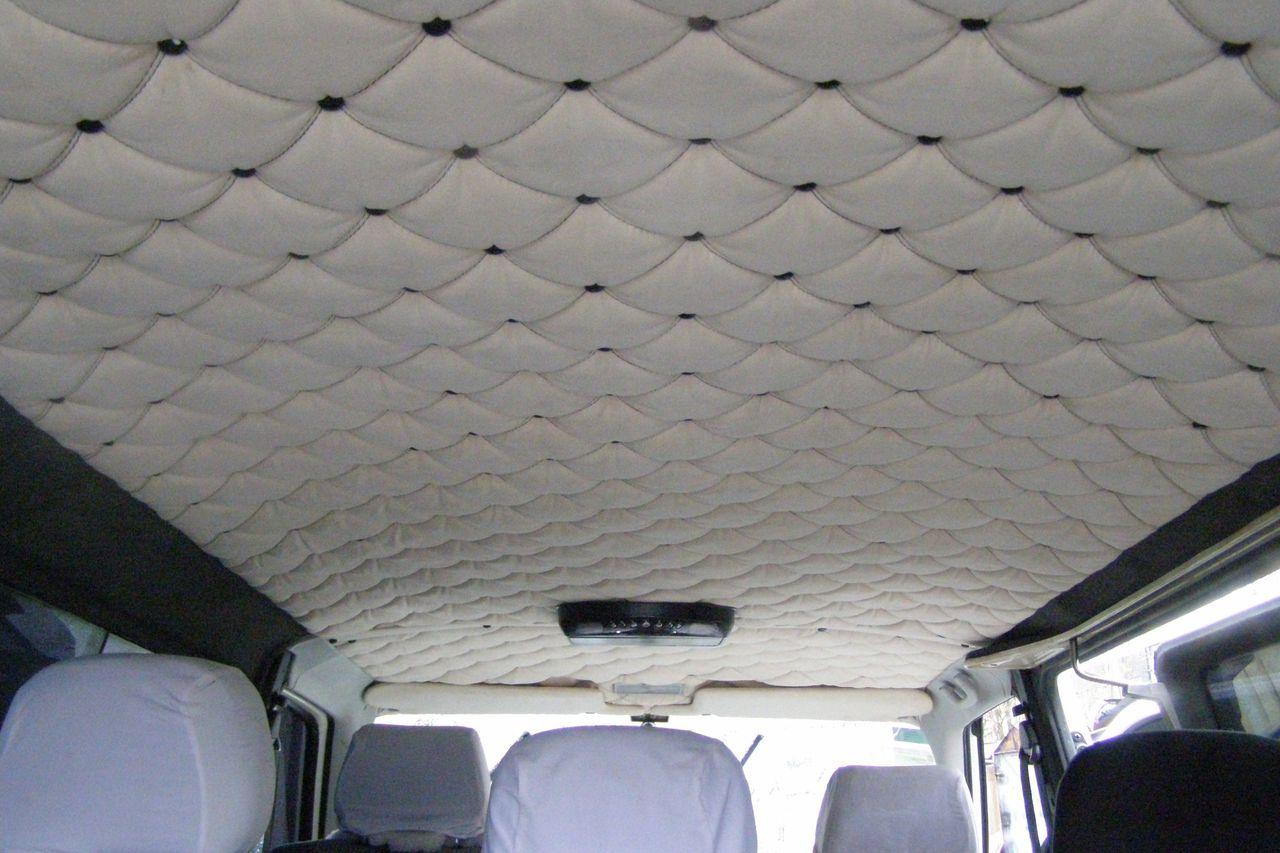 Ремонт обшивки крыши автомобиля