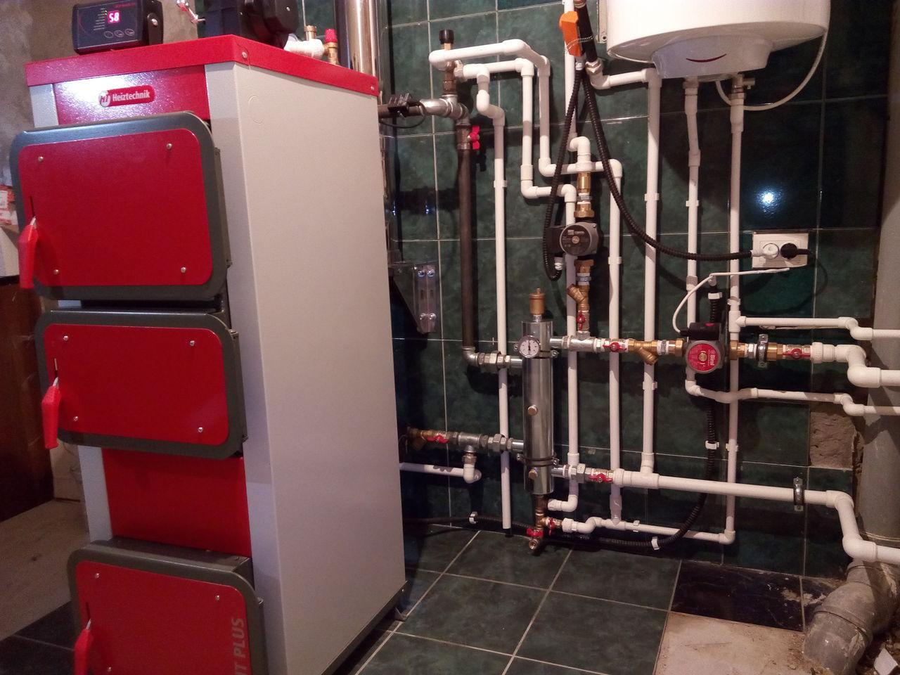 котлы для водяного отопления в частном доме
