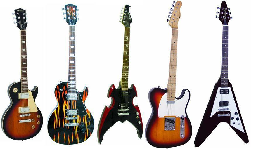 Электро гитару 75