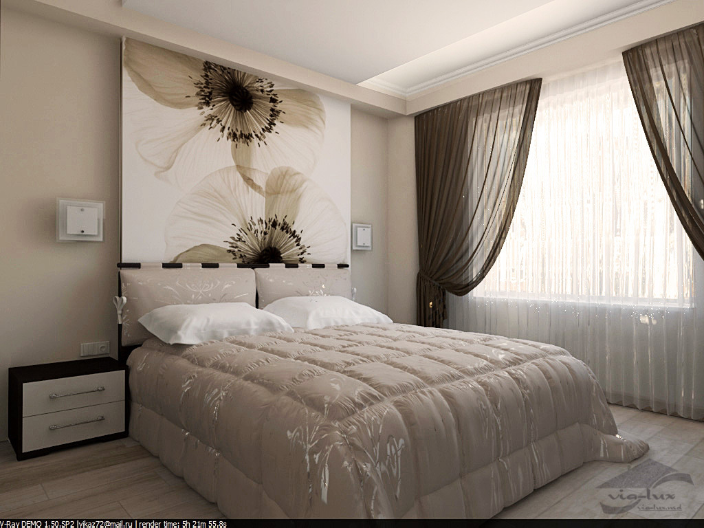 Идеи ремонта спальни своими руками недорого фото