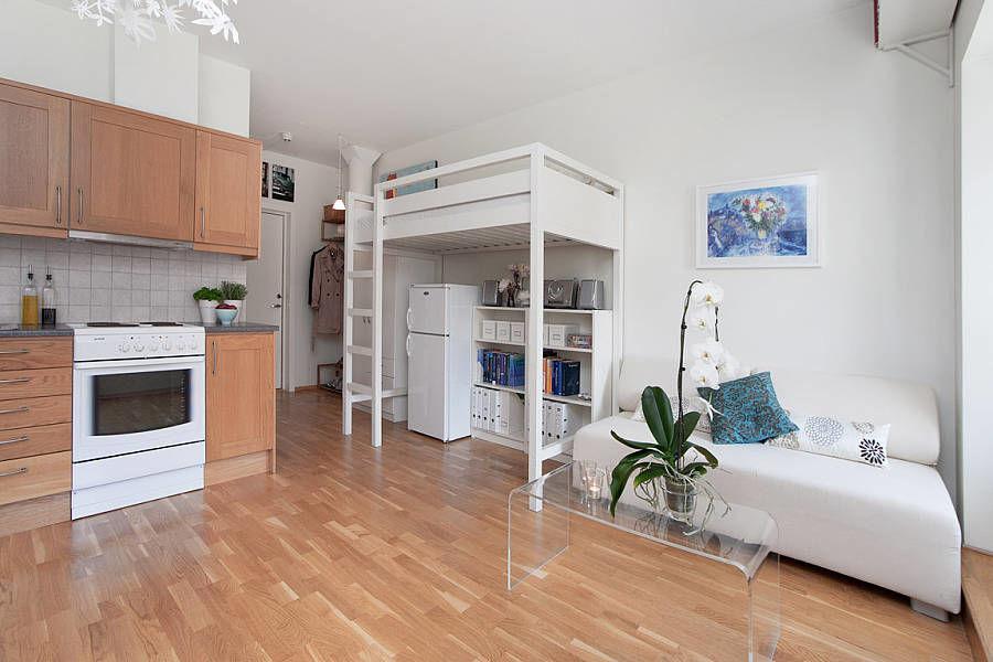 идеи для однокомнатной квартиры с ребенком дизайн фото