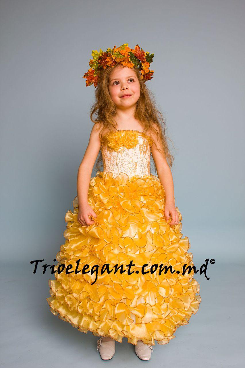 Костюмы на золотую осень для девочек