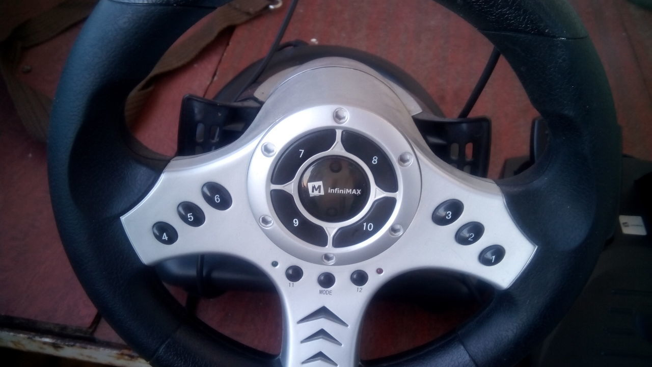 INFINIMAX STEERING WHEEL WINDOWS 7 DRIVER DOWNLOAD
