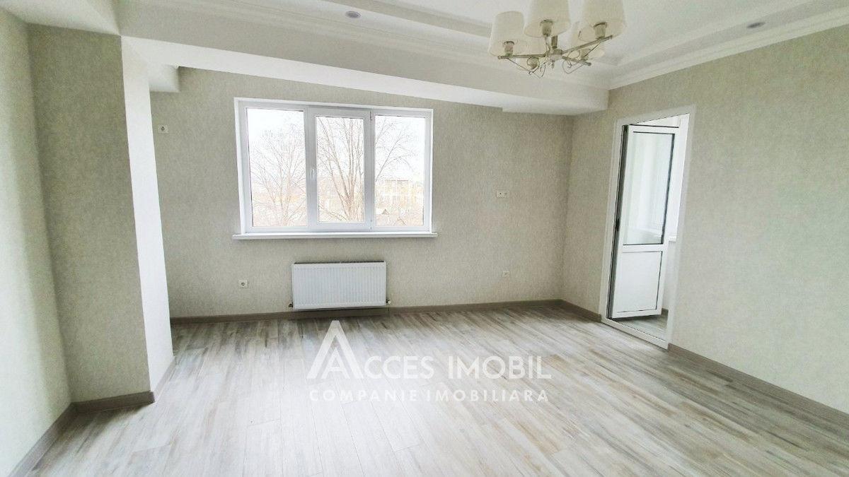 Lagmar Râșcani, str Carierei, 2 camere + living Euroreparație