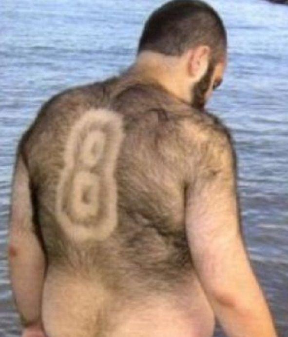 Эти мужчины отдают свои тела для совершенно нового направления в искусстве - стильной и художественной стрижки волос на теле.