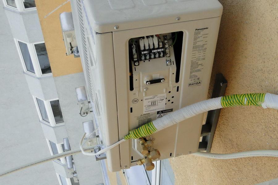 Подключение проводки кондиционера