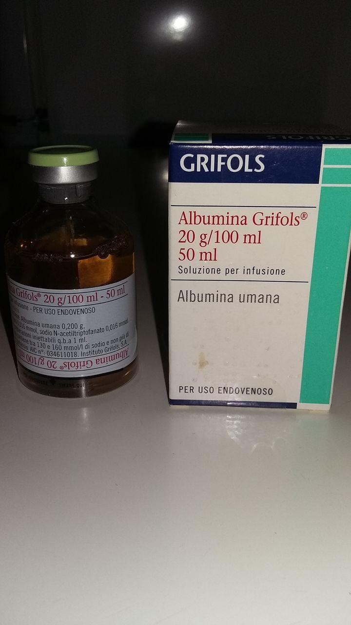albumina de slabire
