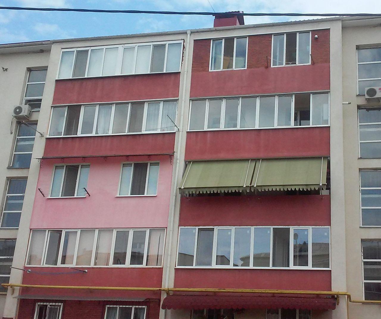 Тент для открытых балконов и лоджий.