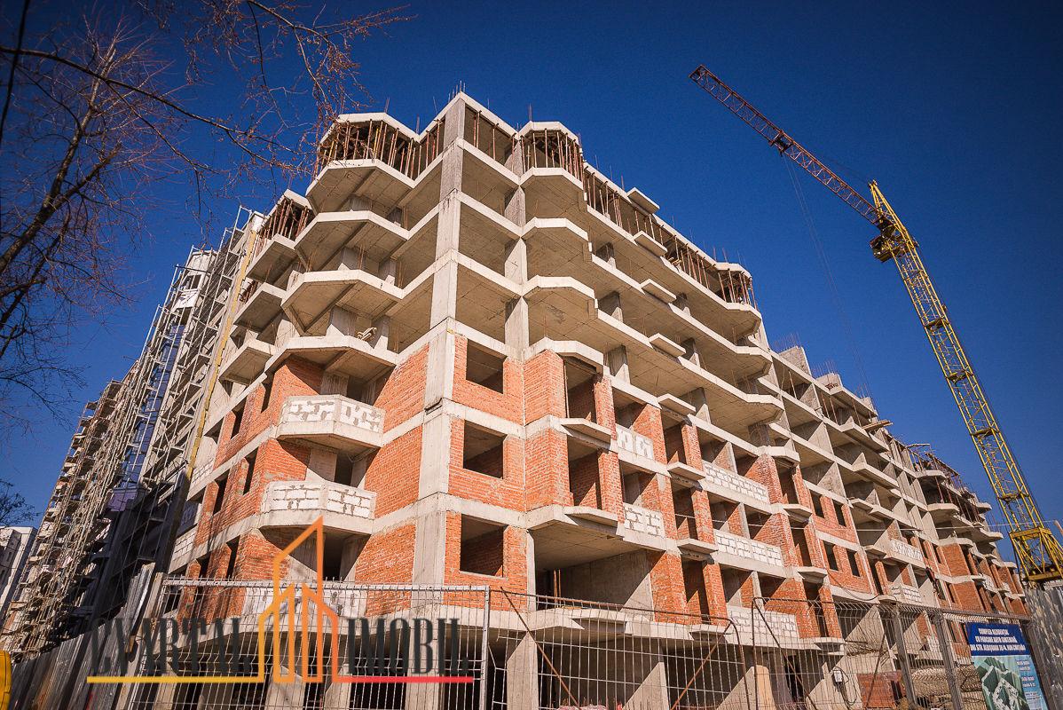 Centru Apartament cu 3 odai + living si bucatarie in noul Complex Locativ De la 670 – 710 EUR/m2