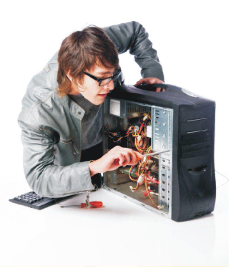 Домашний мастерремонт компьютеров своими руками