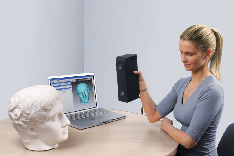 Ces 2009: 3d scanners for desktops launched by realview