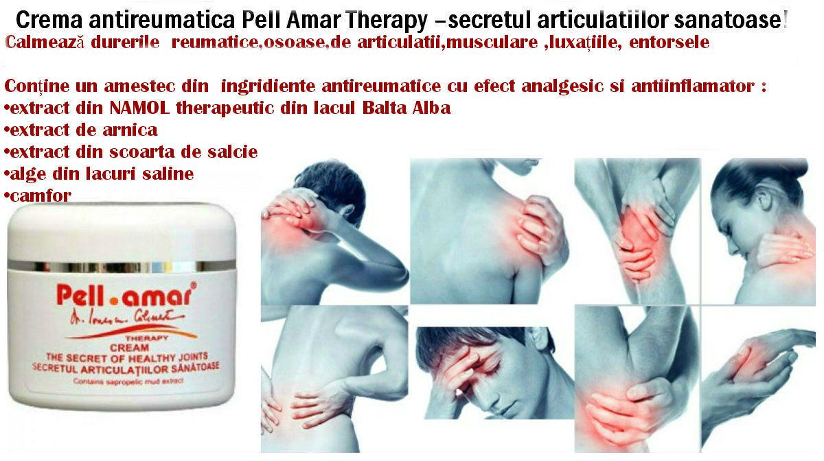 algă pentru dureri articulare