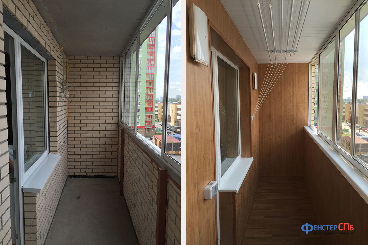 Ремонт балконов.